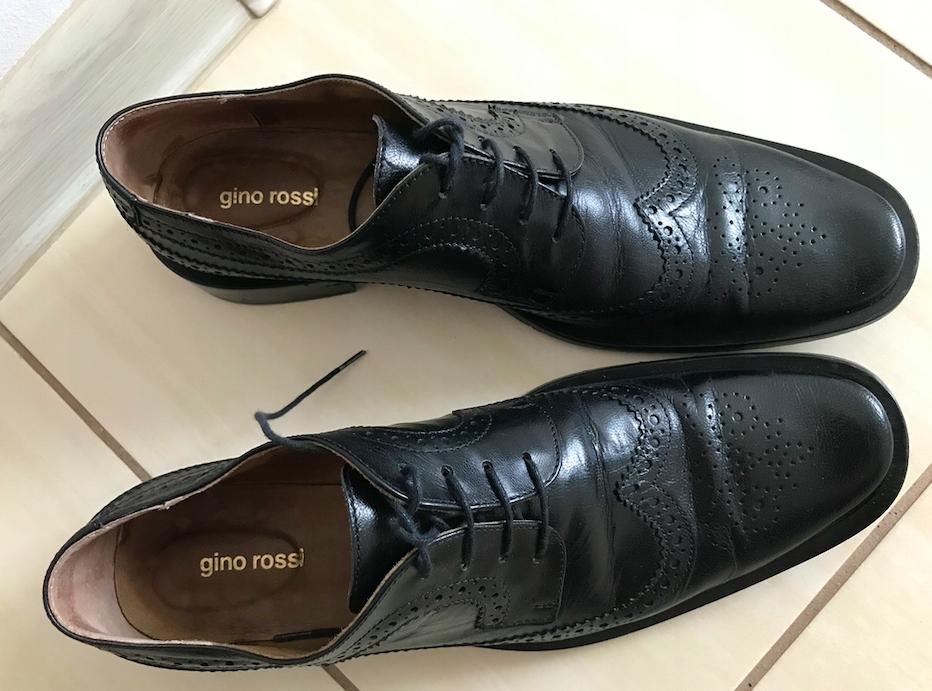 Buty Gino rossi damskie skórzane 39 półbuty