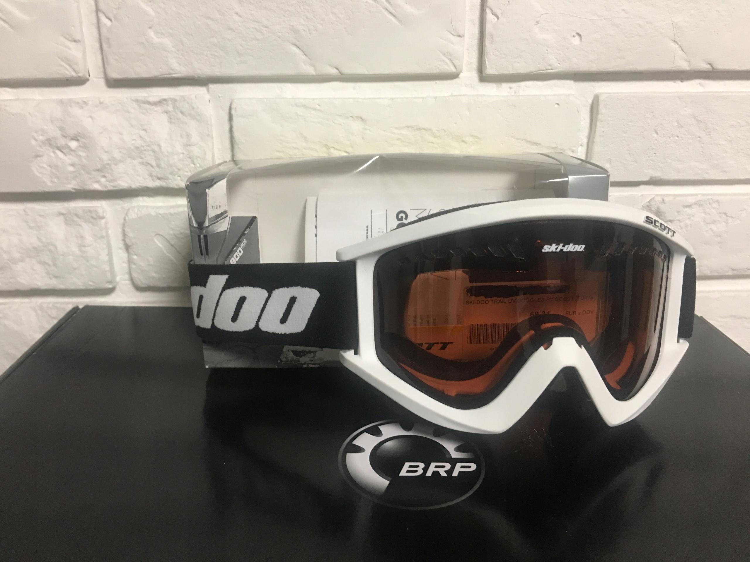 gogle ski-doo skuter śnieżny summit freeride brp