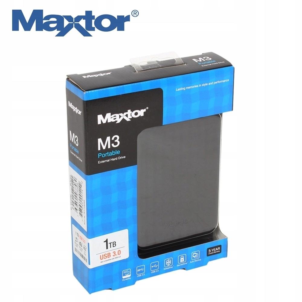 "Maxtor M3 Portable 1 TB 2,5"" USB 3.0"
