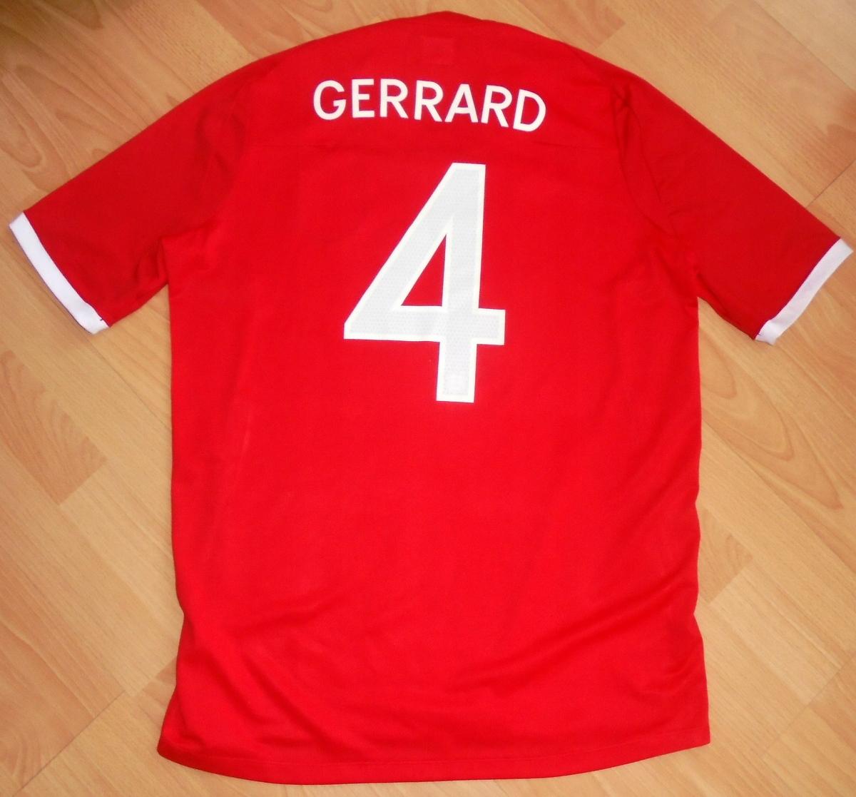 Koszulka Anglia Umbro Gerrard L
