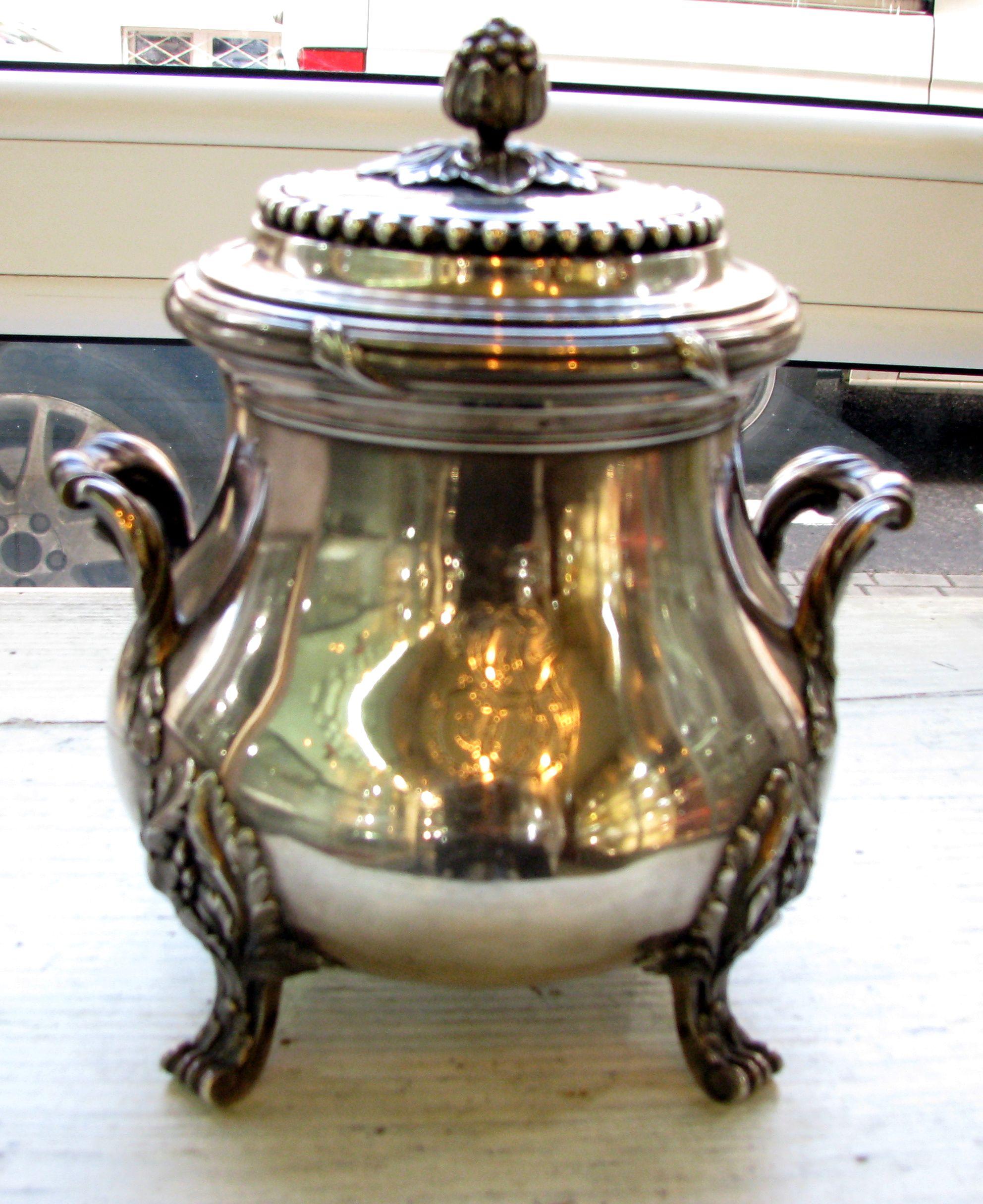 Cukiernica srebro 950 BOIN TABURET Paris