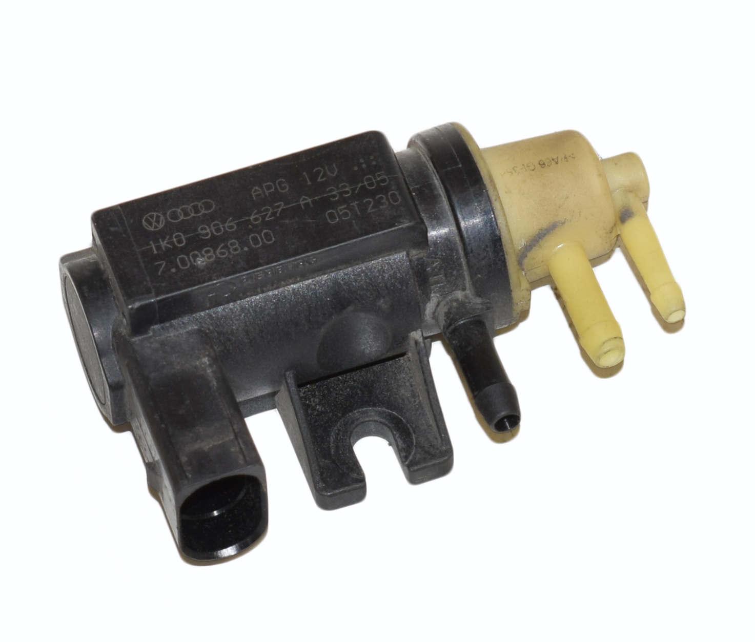 Zawór turbosprężarki 1.9 2.0Passat B6 1K0906627A