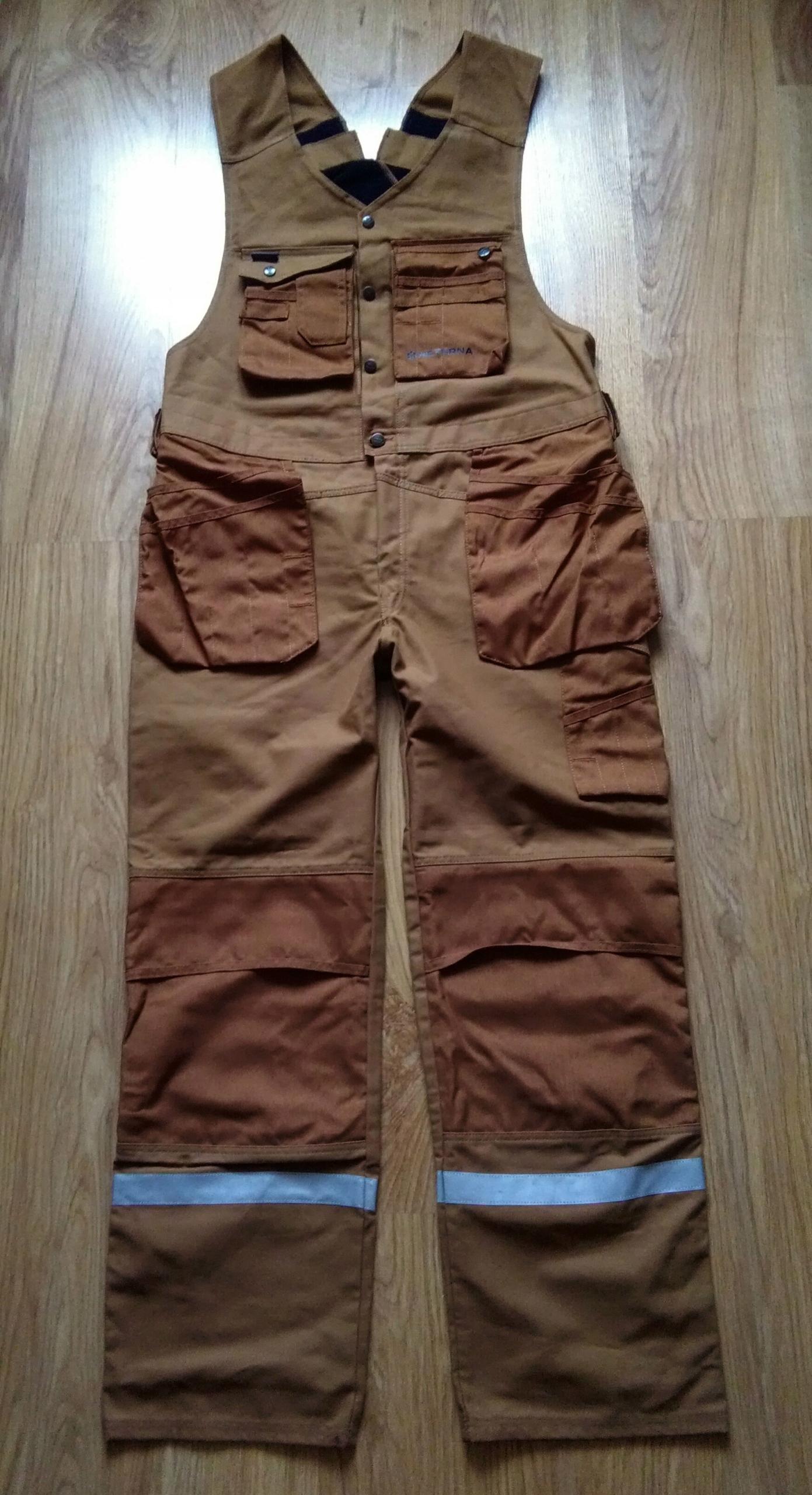 Snickers spodnie dekarskie NOWE ogrodniczki 154 XL