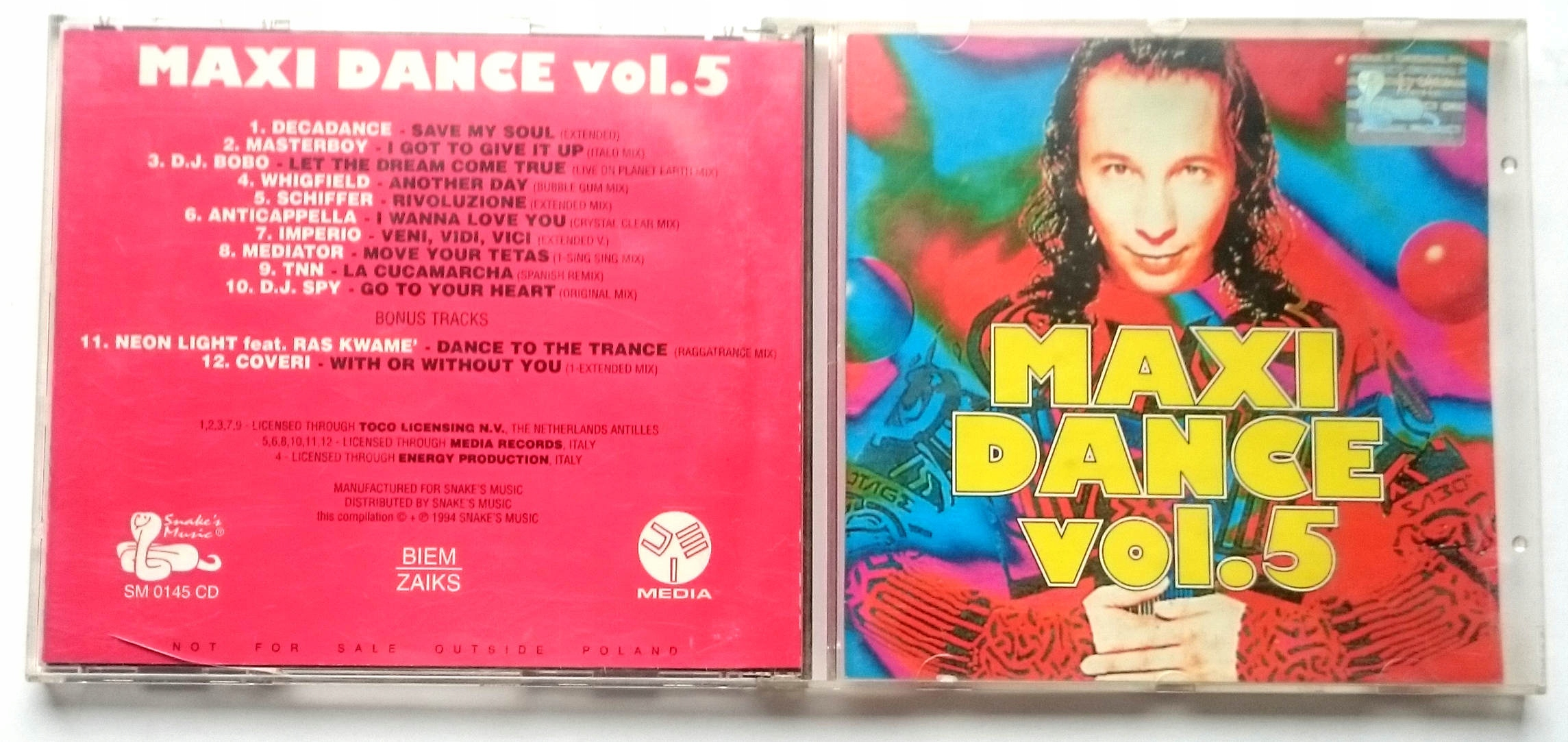Various  Maxi Dance Vol. 5 SM0145CD