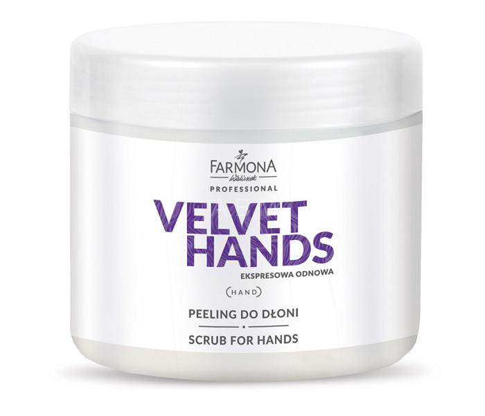 FARMONA VELVET HANDS Peeling do dłoni