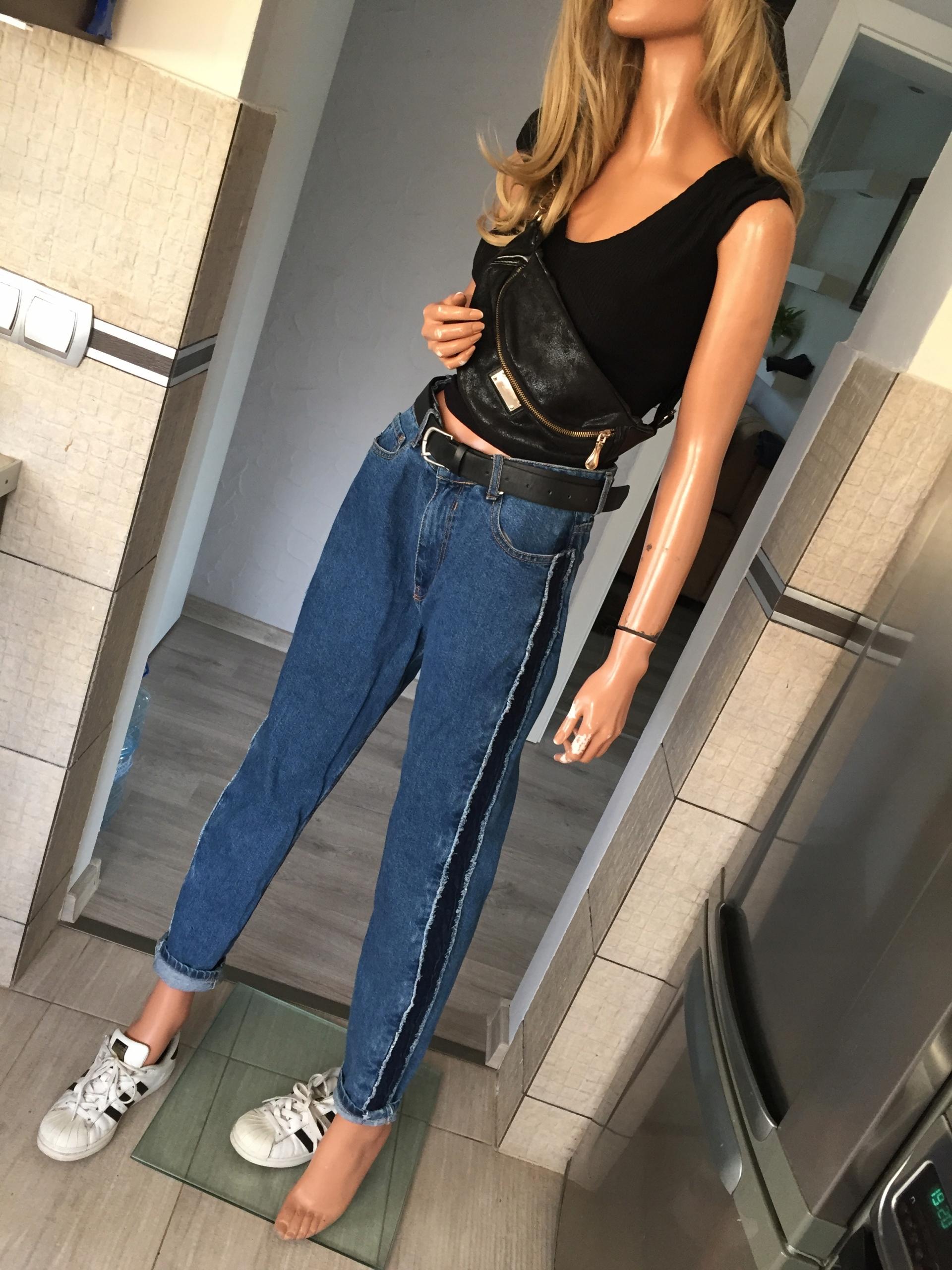 Bershka spodnie MOM 40