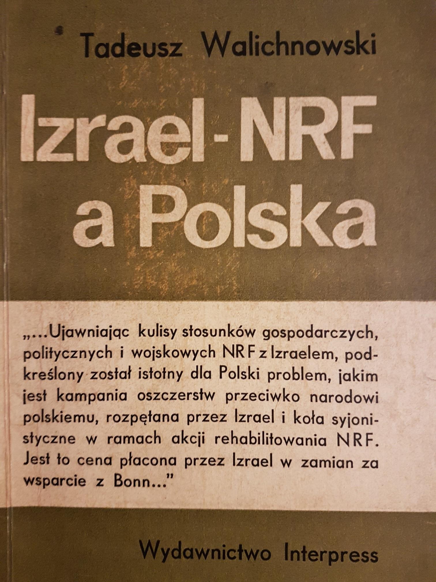 Izreal-NRF a Polska Walichnowski