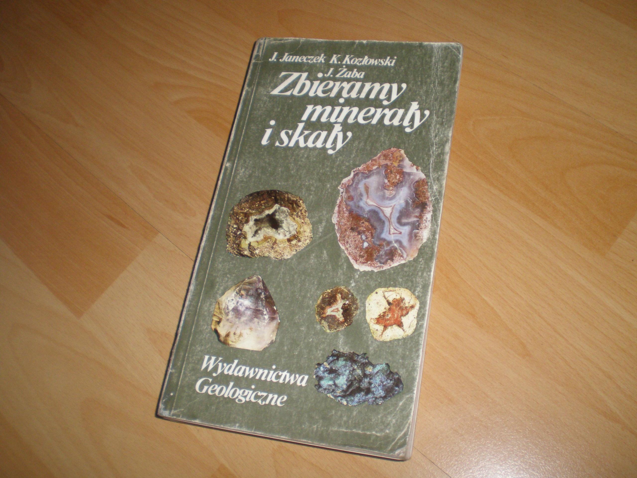 Zbieramy minerały i skały - przew Dolny Śląsk 1991