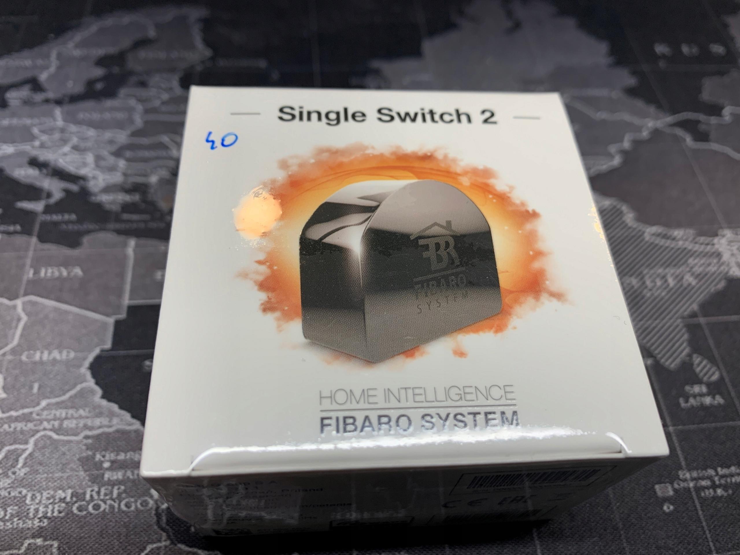 FIBARO Single Switch 2 FGS-213 ZW5 v3.3 NOWY BCM