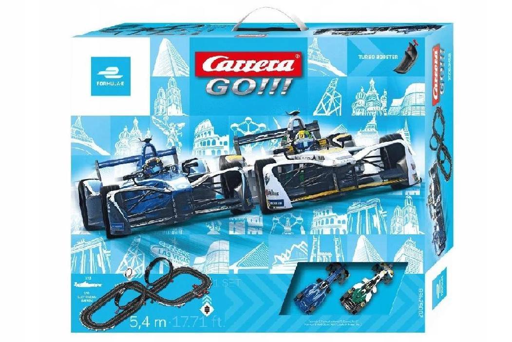 CARRERA Tor wyścigowy GO!!! Formula E