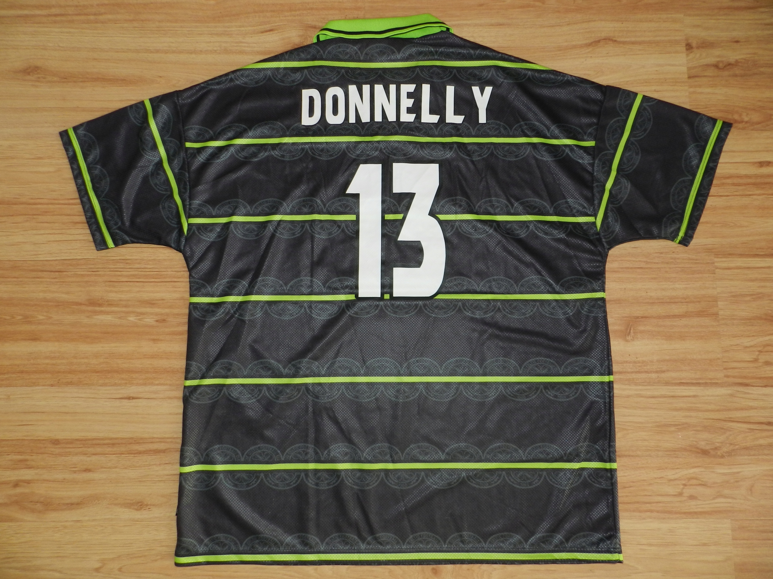 Celtic GLASGOW Umbro 98/99 Away XXL *DONNELLY 13*