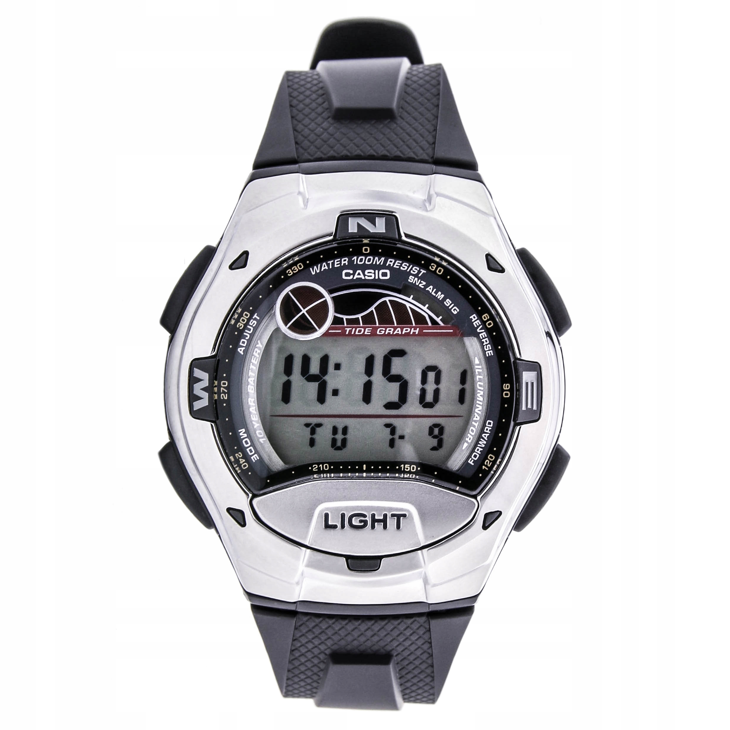 Zegarek CASIO W-753-1AVES datownik