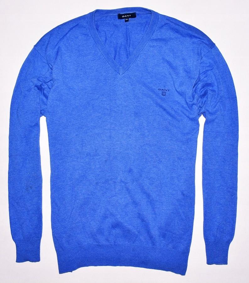 4346-31 ....GANT... n#s SWETER W SEREK BLUE r.XXL