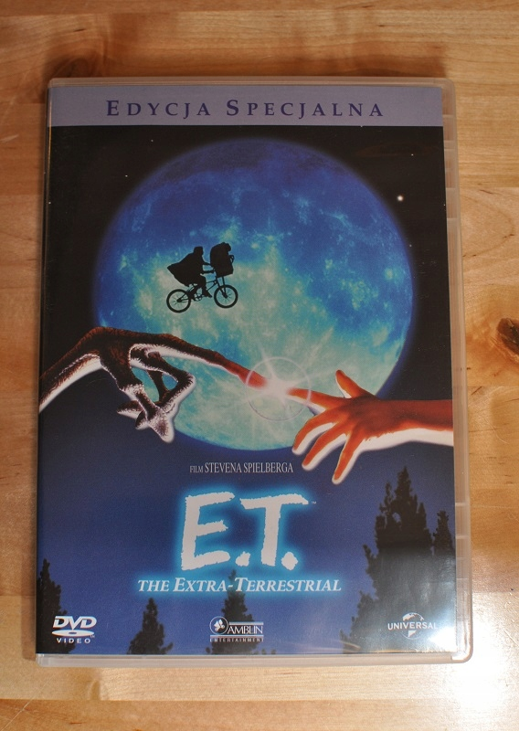 E.T. DVD Steven Spielberg