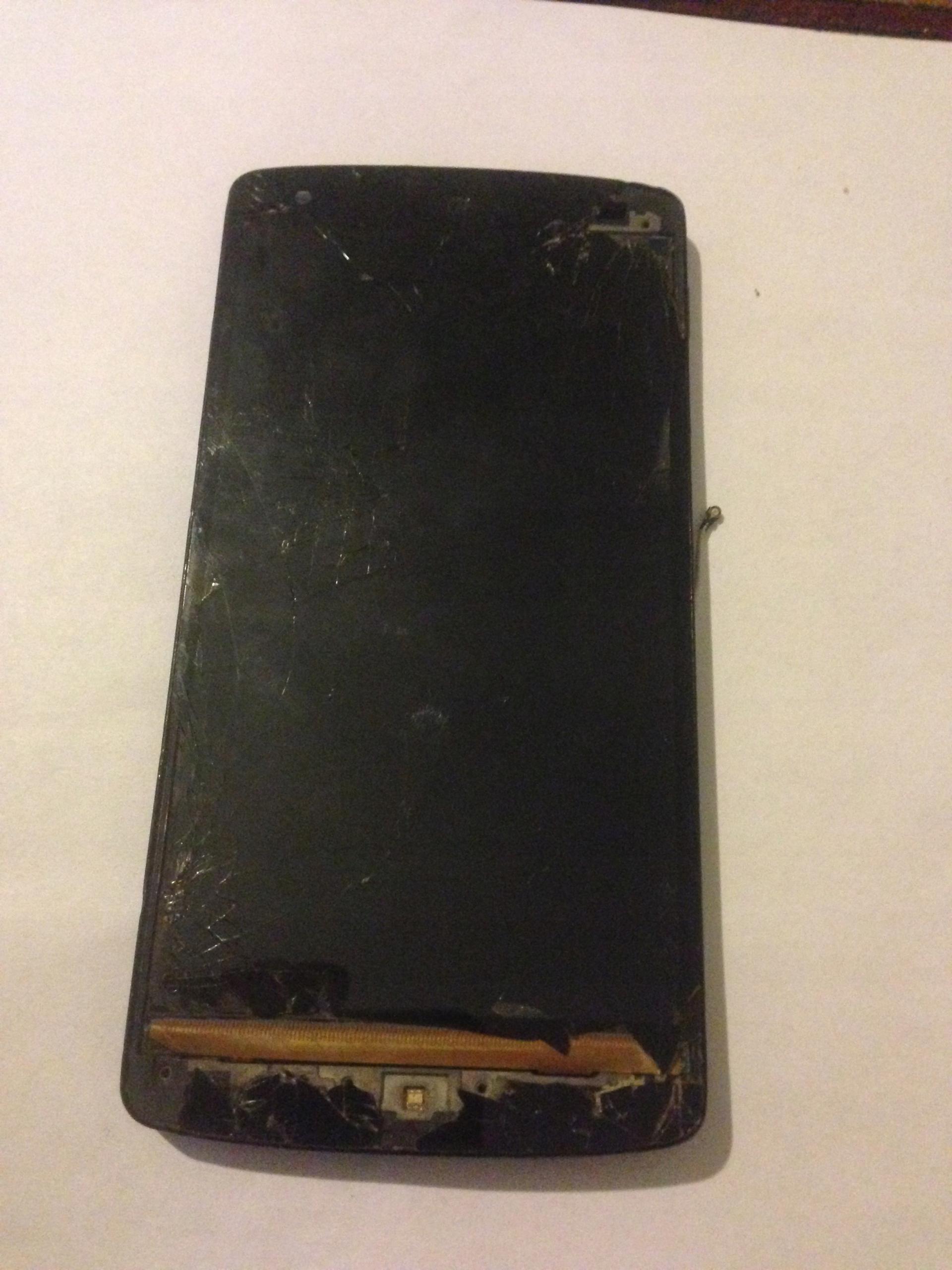 LG Nexus 5 Ekran Rama LCD Uszk