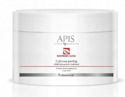 APIS Cukrowy peeling RASPBERRY GLOW 220g maliny