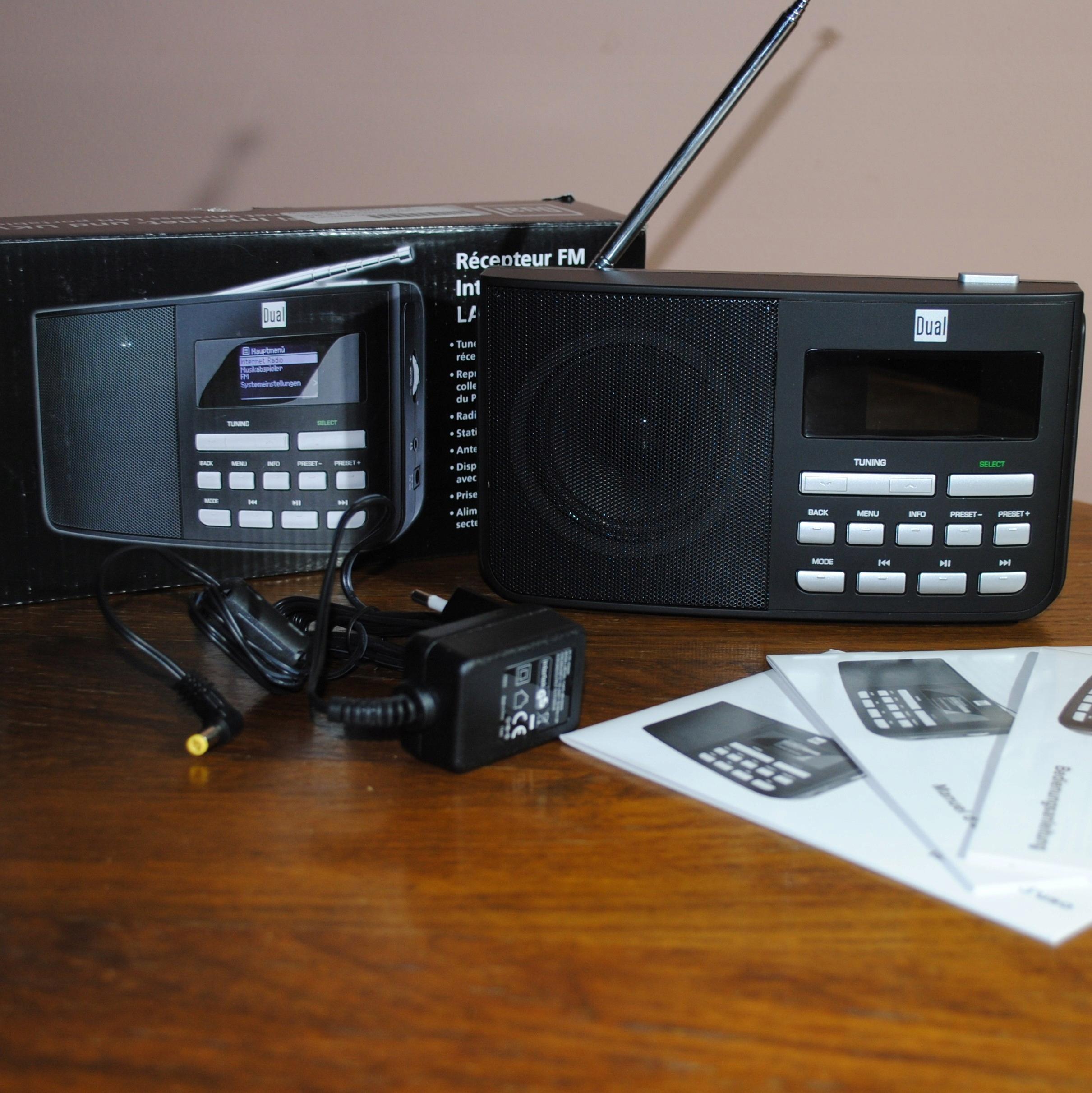 Radio internetowe, przenośne DUAL IR 5.1