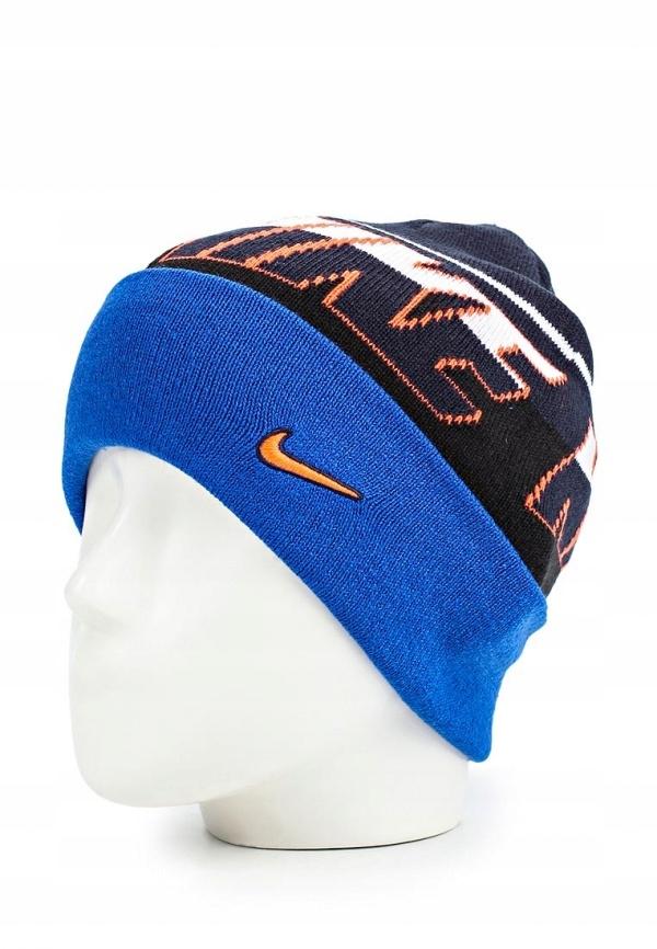 Czapka zimowa Nike niebieska