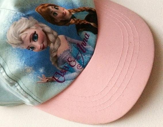 H&M czapka z daszkiem KRAINA LODU 1,5-4 lat