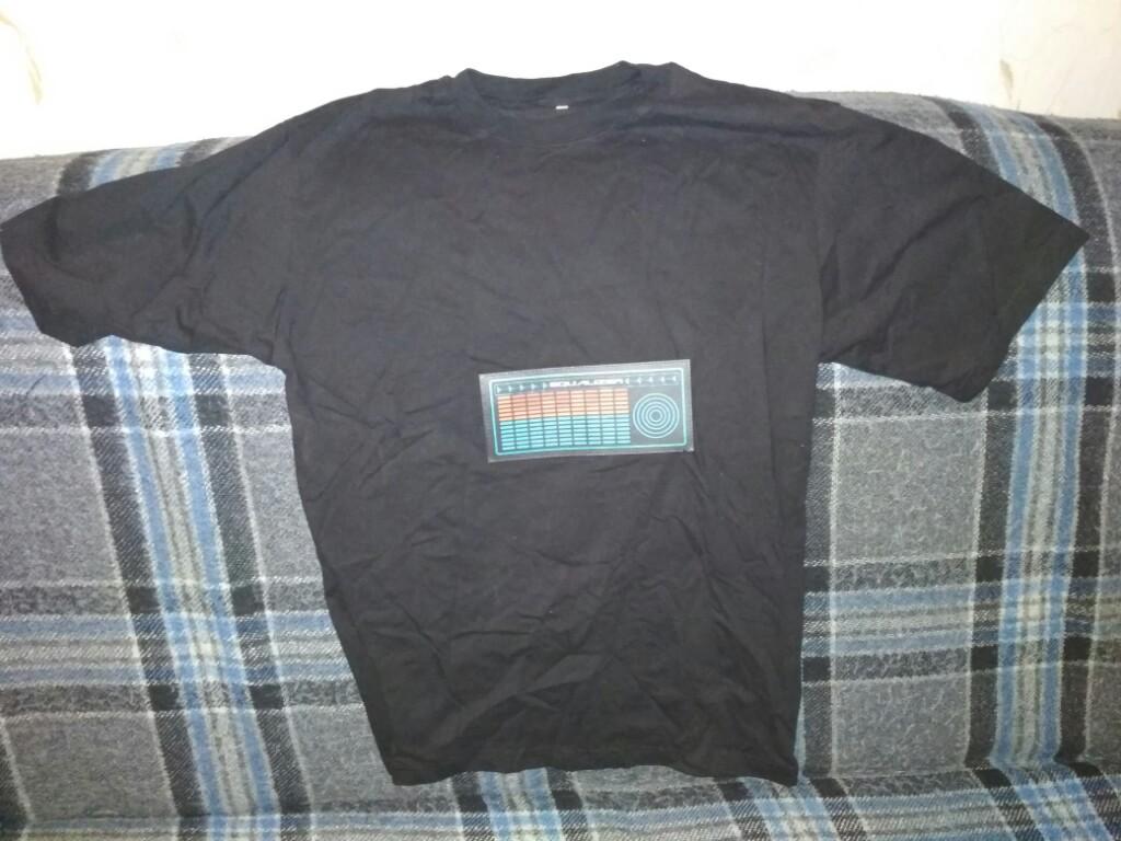 koszulka imprezowa z equalizerem