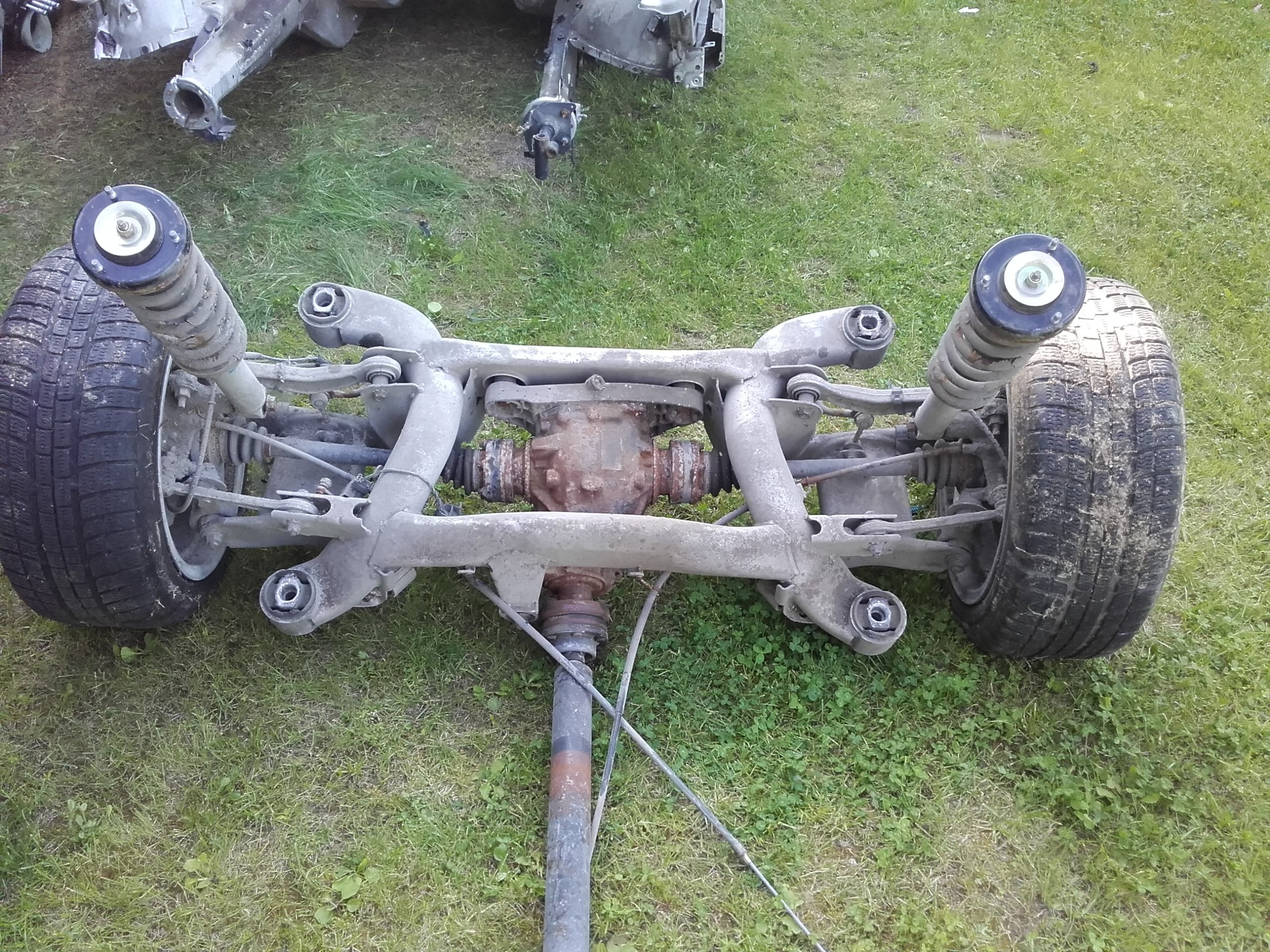 AMORTYZATORY DYFER 2,93 V8 KOŁYSKA SANKI BELKA BMW