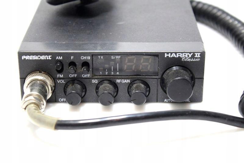 CB RADIO PRESIDENT HARRY II CLASSIC