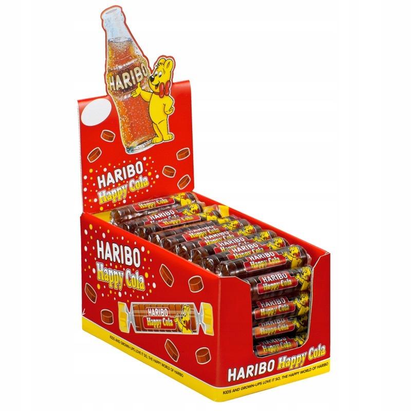Haribo Drops Cola/op 50 sztuk/fv