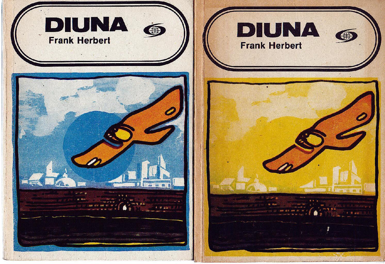 Znalezione obrazy dla zapytania Frank Herbert : Diuna Tom 1-2