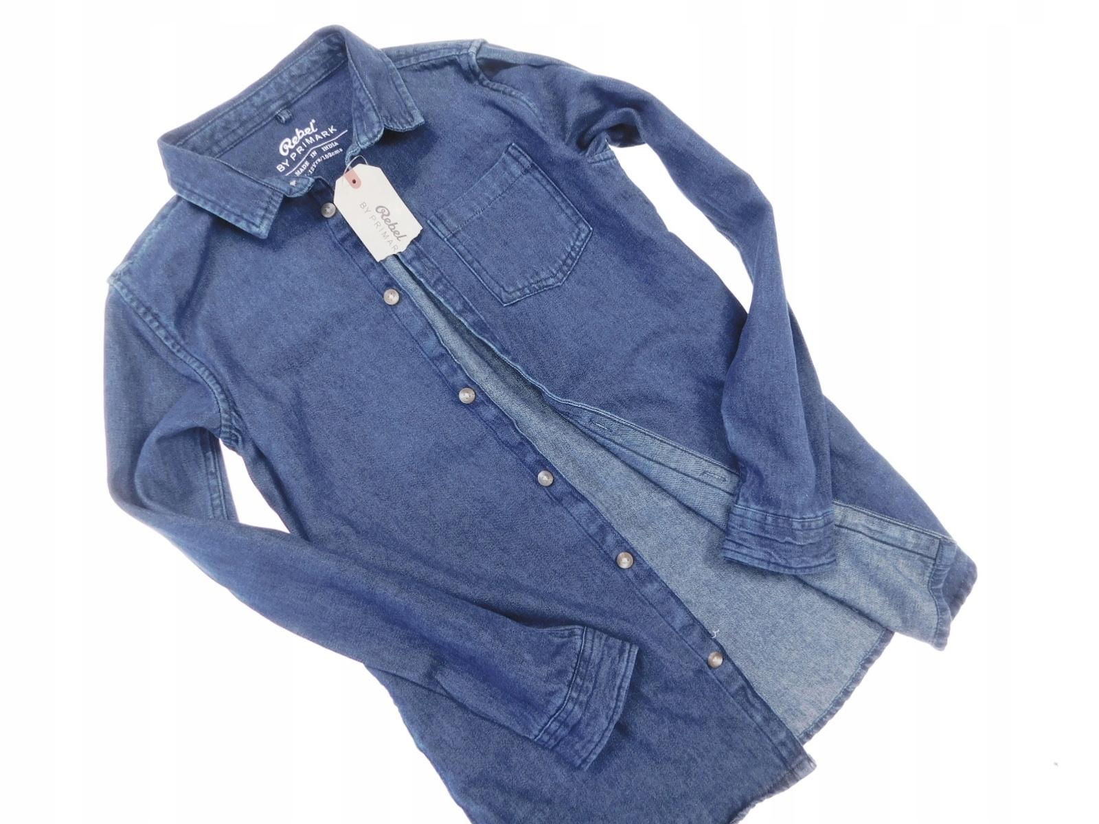 rebel nowa koszula jeans _ 11/12 152