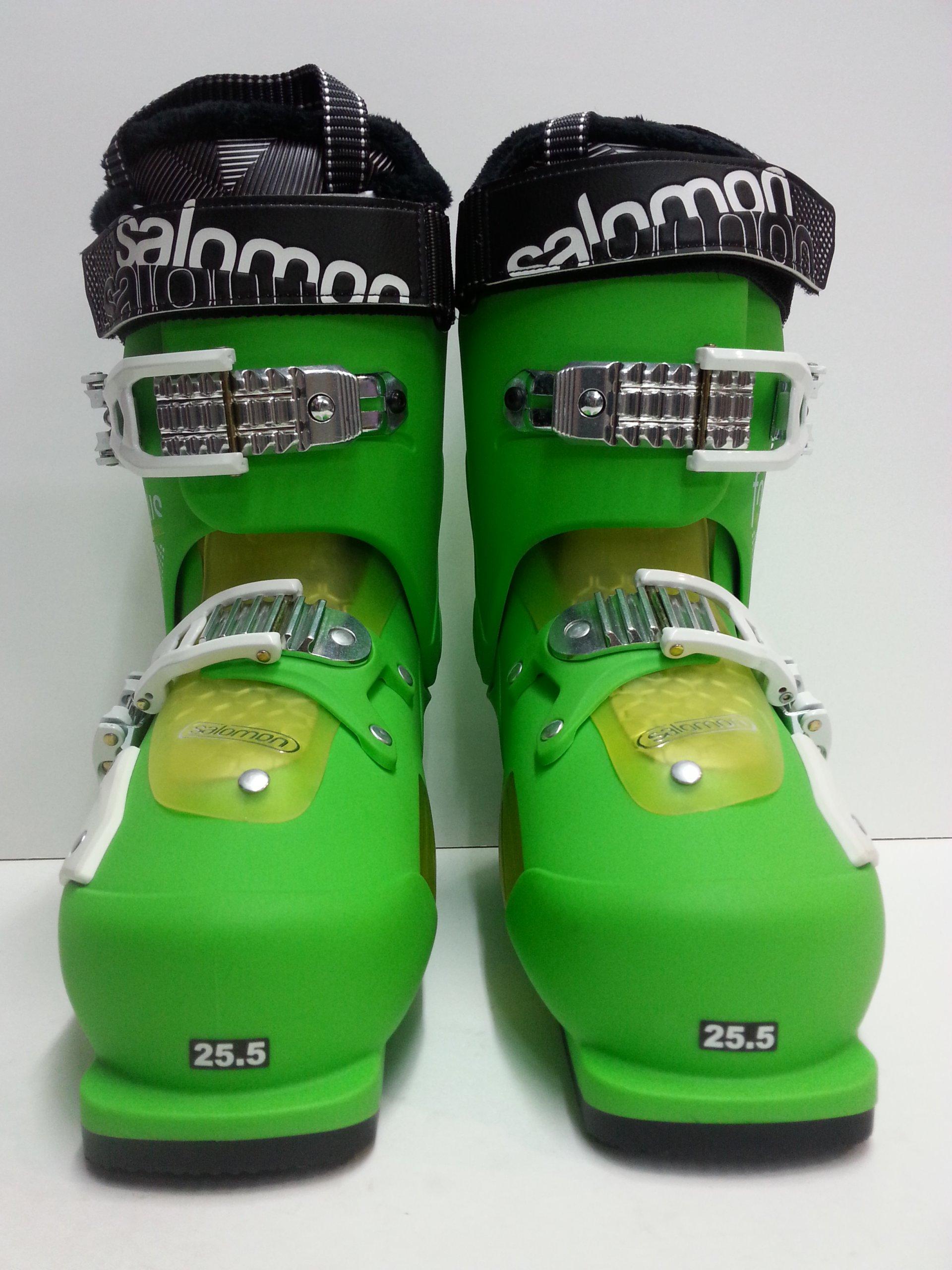 -50% Buty Narciarskie Salomon FOCUS 25,5 green