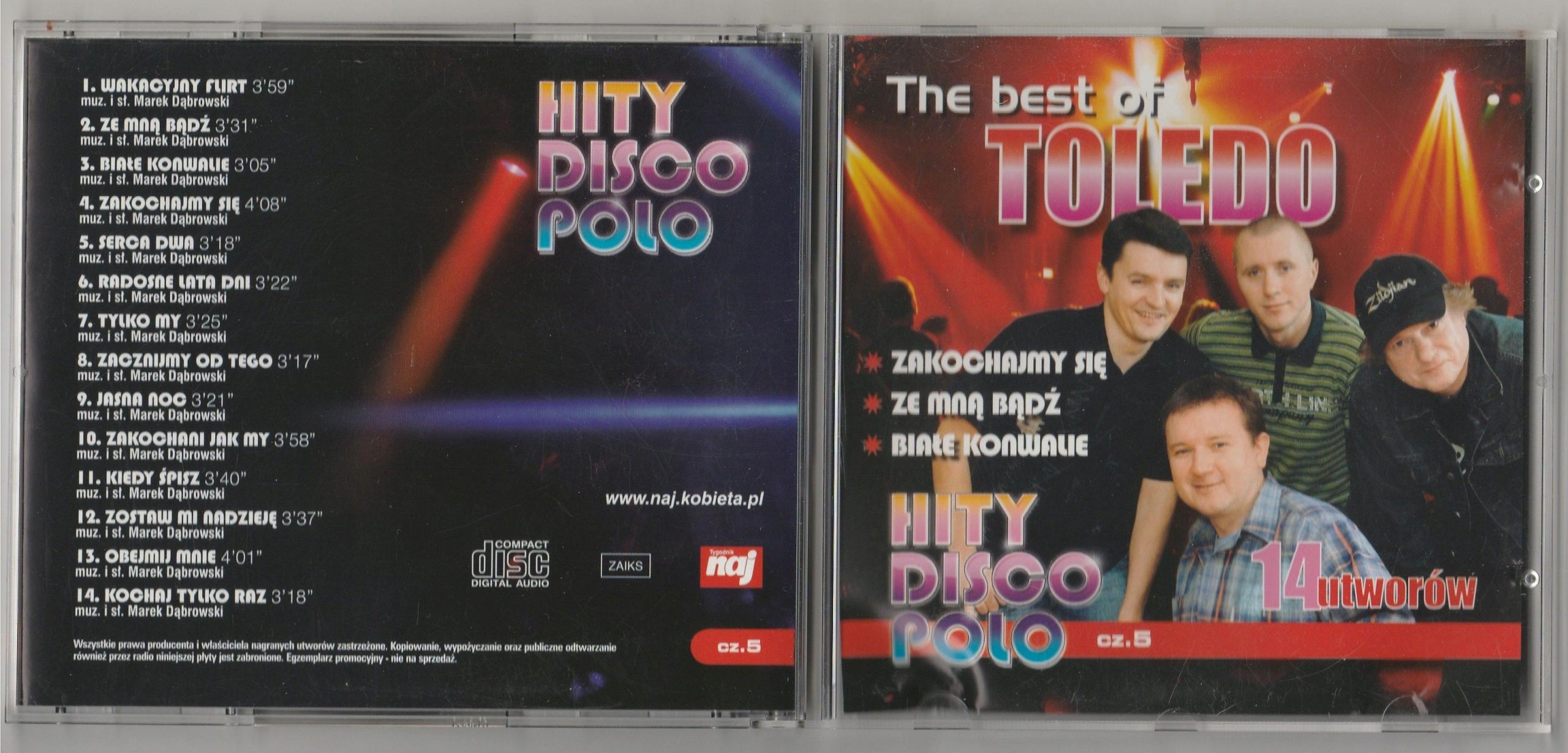 TOLEDO The Best Of CD 2008 naj 14 HITS SUPER STAN