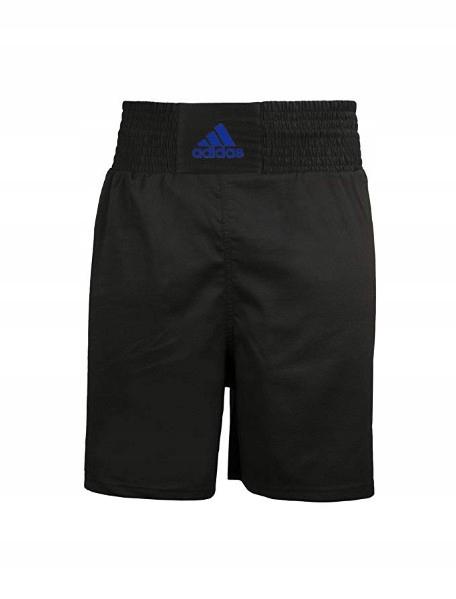Spodenki bokserskie Adidas Boxfit Black/Blue #18