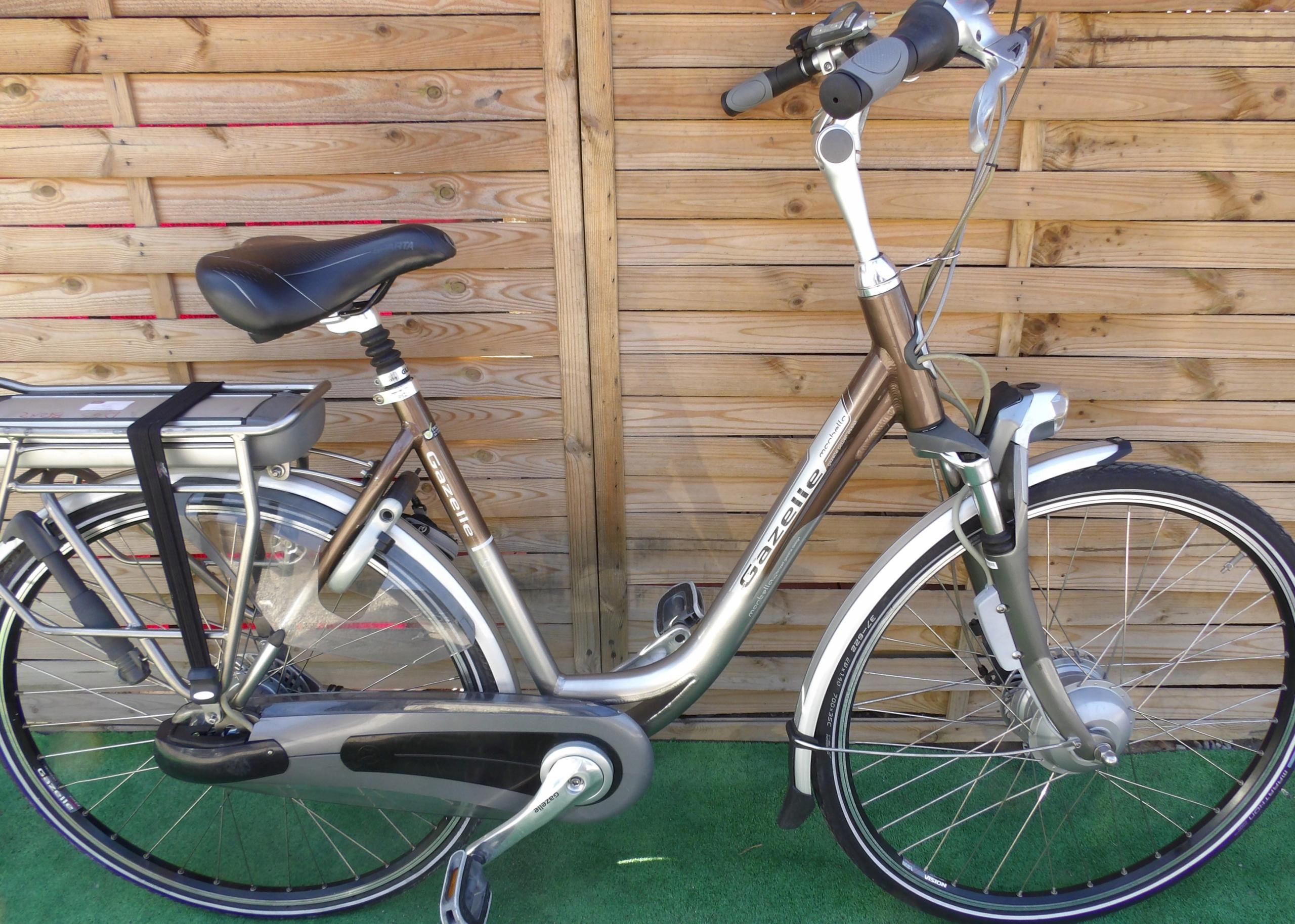 Rower elektryczny Gazelle Marbella. D 53. I inne.