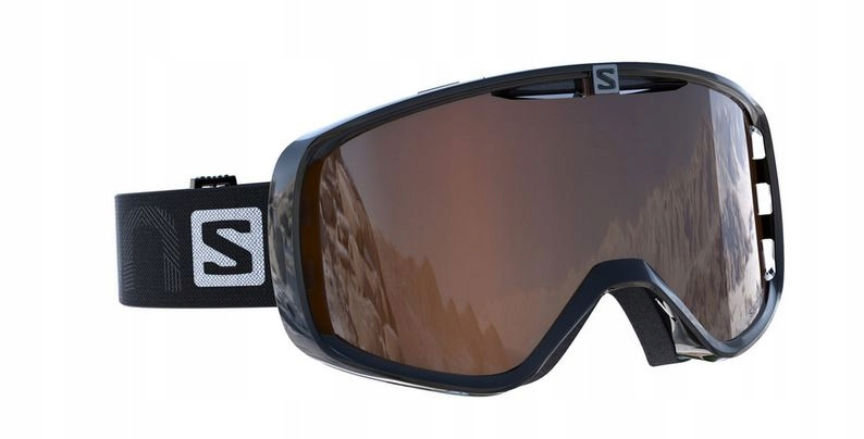 GOGLE SALOMON AKSIUM ACCESS S2 BLACK ORANGE