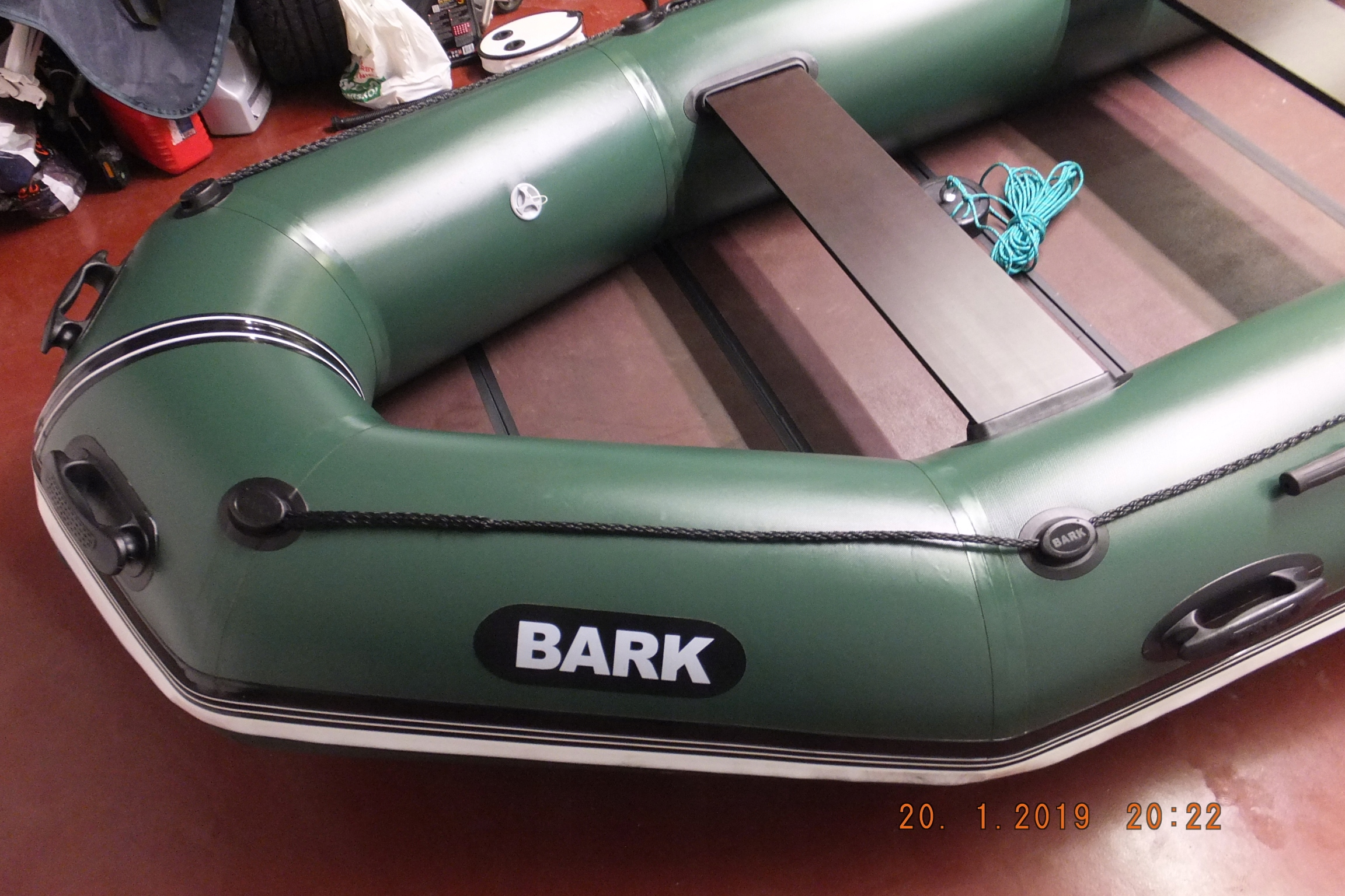 Ponton Bark BT-330K wędkarski podłoga książkowa