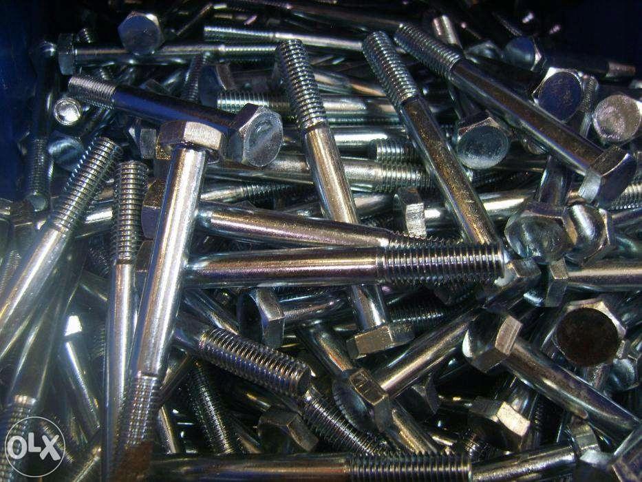 Poważnie Śruby śruba M10x90 ocynkowane ocynk CENA ZA KG! - 7459188654 EJ96