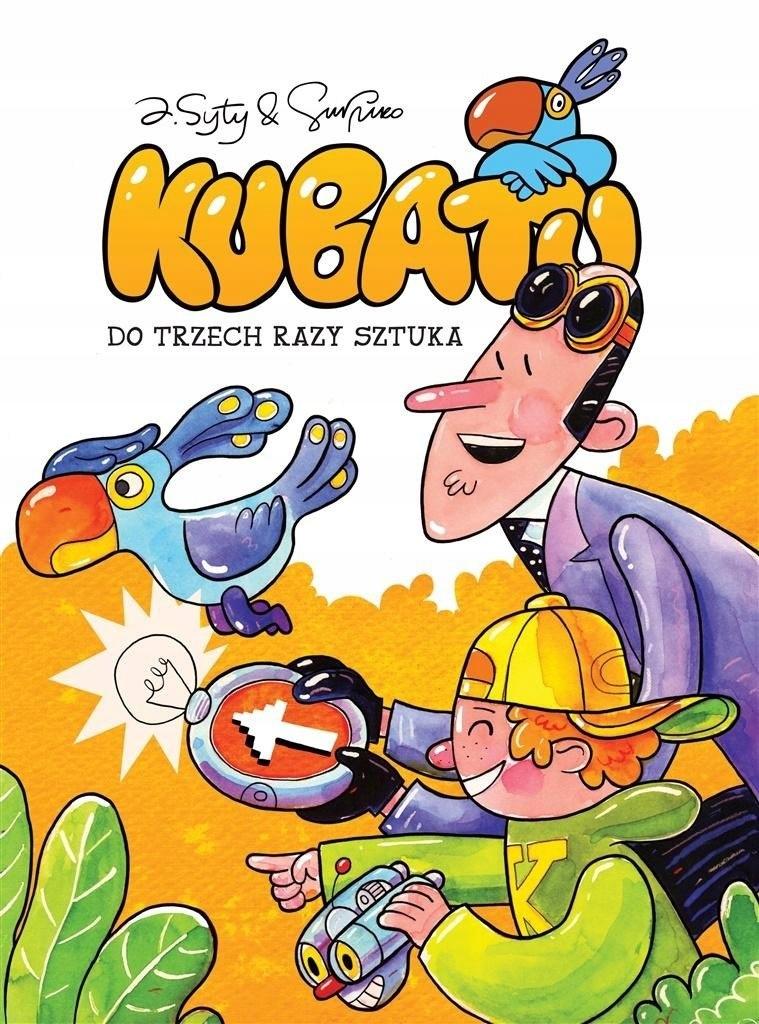 komiks Kubatu Do trzech razy sztuka T 3 EGMONT
