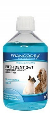Francodex Fresh Dent płyn do higieny jamy ustnej 5