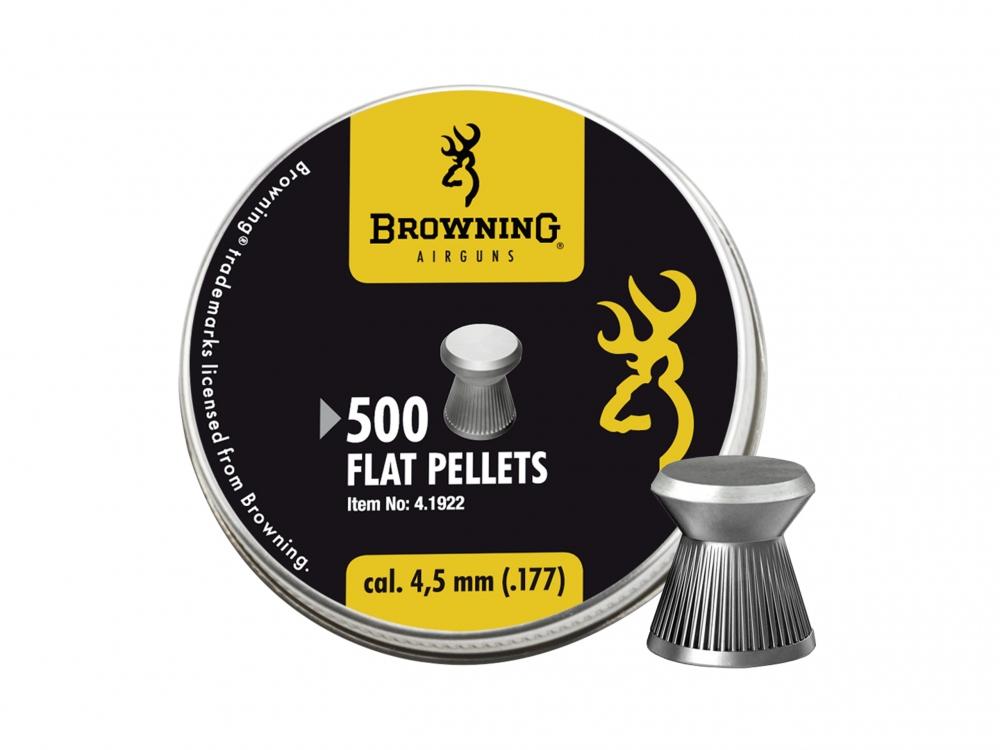 Śrut diabolo Browning Ribbed gładki 4,5 mm 500 szt