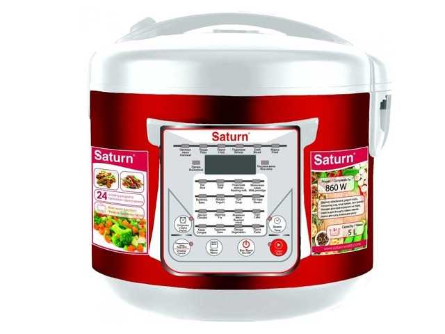 Multicooker SATURN ST-MC9208 Czerwony 860W 5L