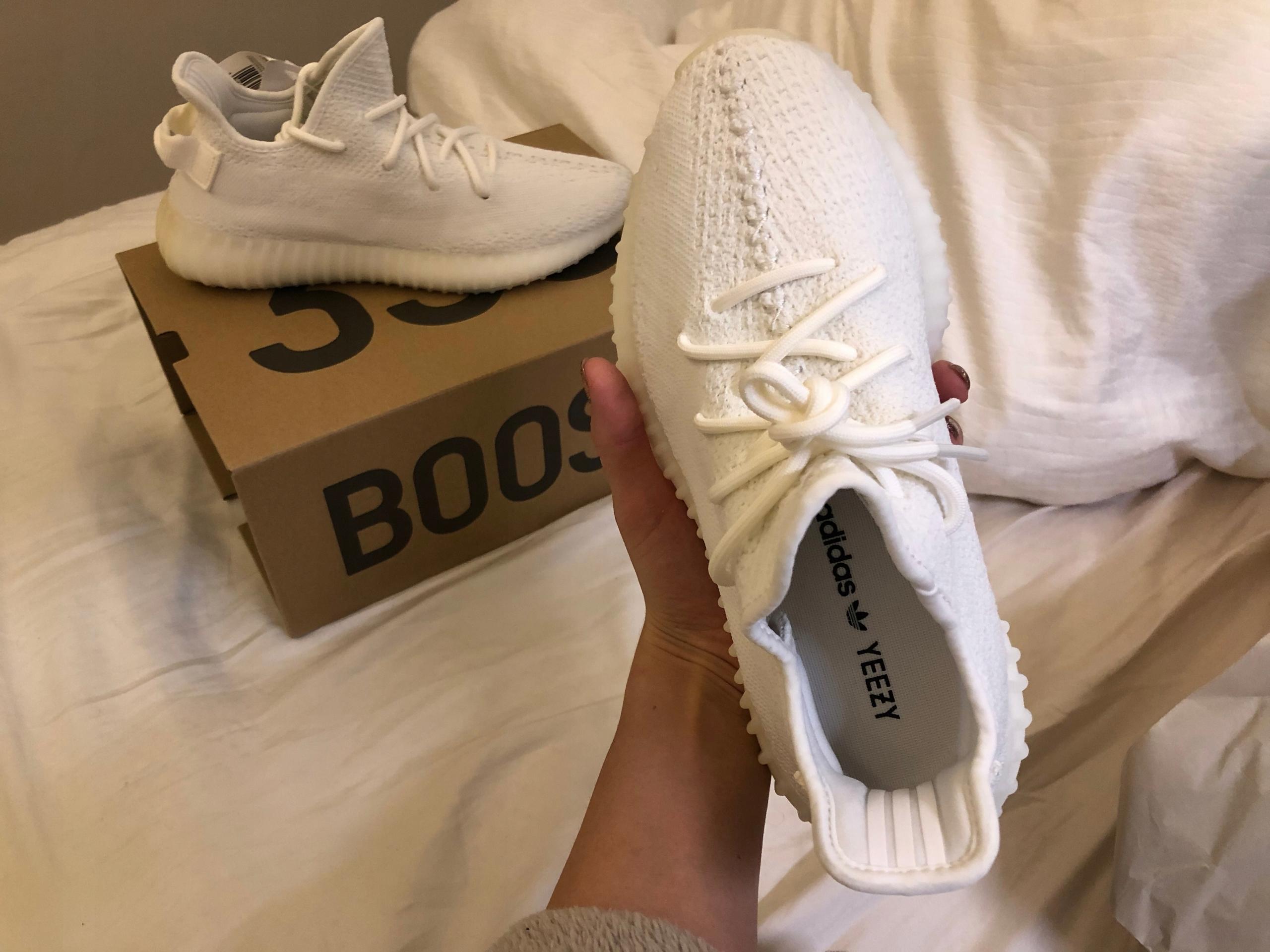 efe8e414 Adidas yeezy boost 350 v2 triple white 40 2/3 - 7781581404 ...
