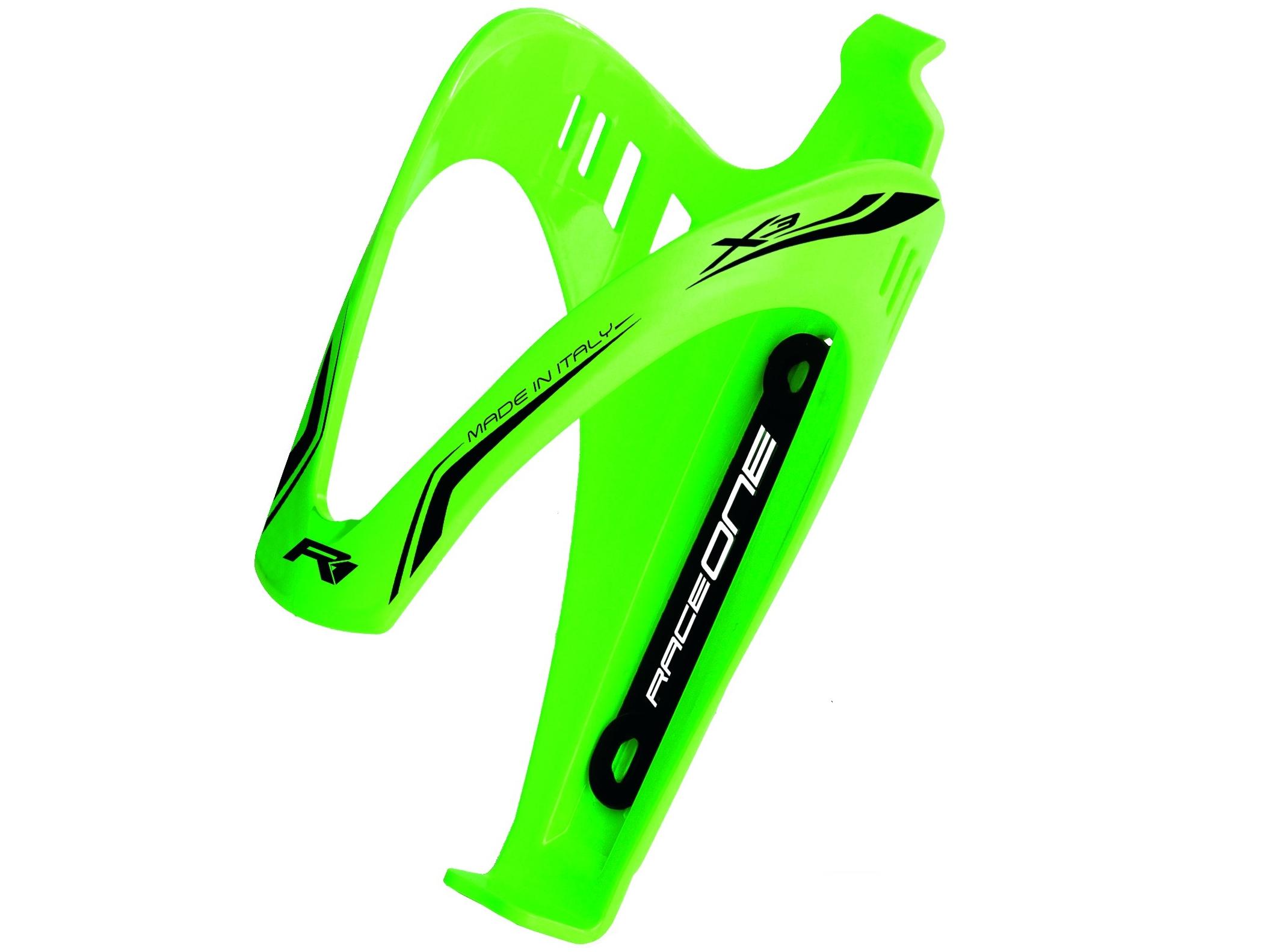 Koszyk bidonu RaceOne X3 zielony bidon rowerowy
