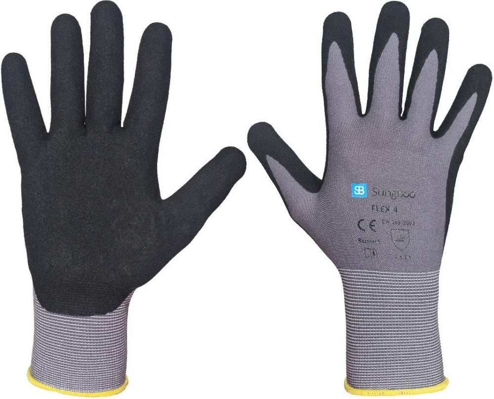 rękawice Robocze -rękawice powlekane nitrylem FLEX