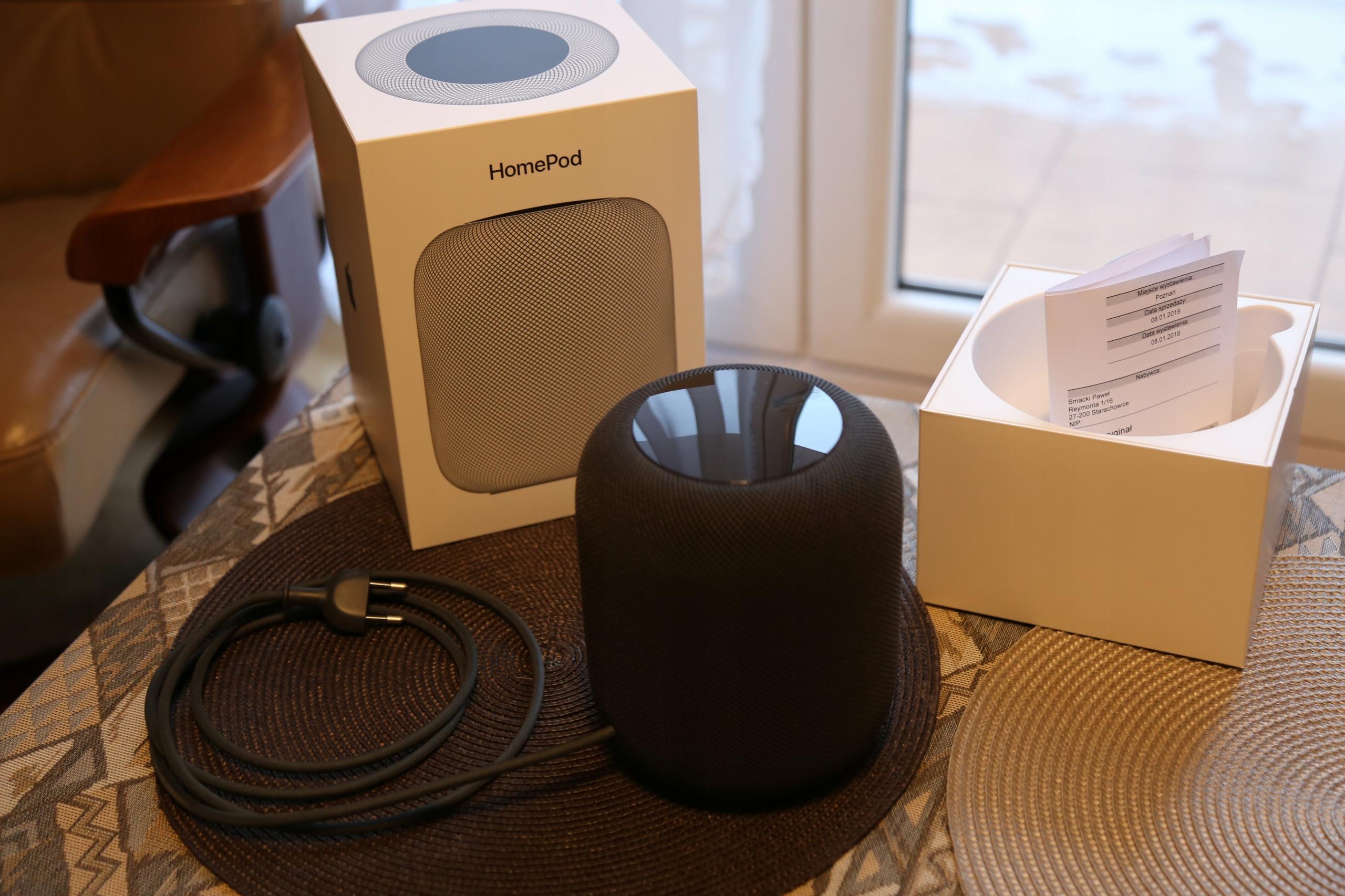 Apple HomePod (EU) - Rozpakowany i sprawdzony