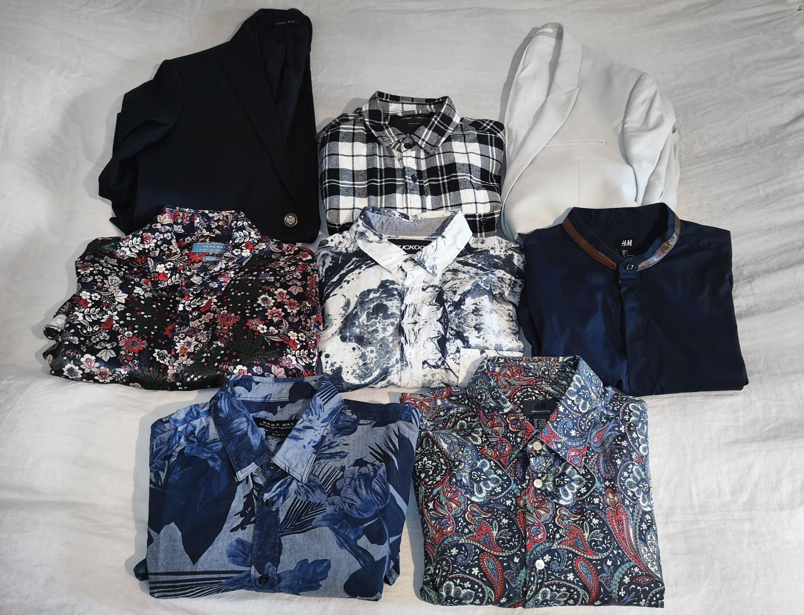 Markowe Koszule oraz Maryranki Komplet