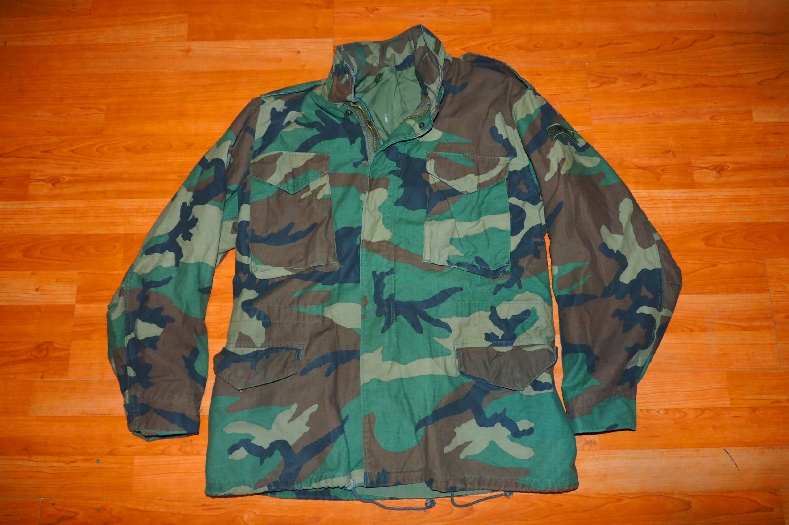 Oryginalna kurtka wojskowa M65 (175cm)