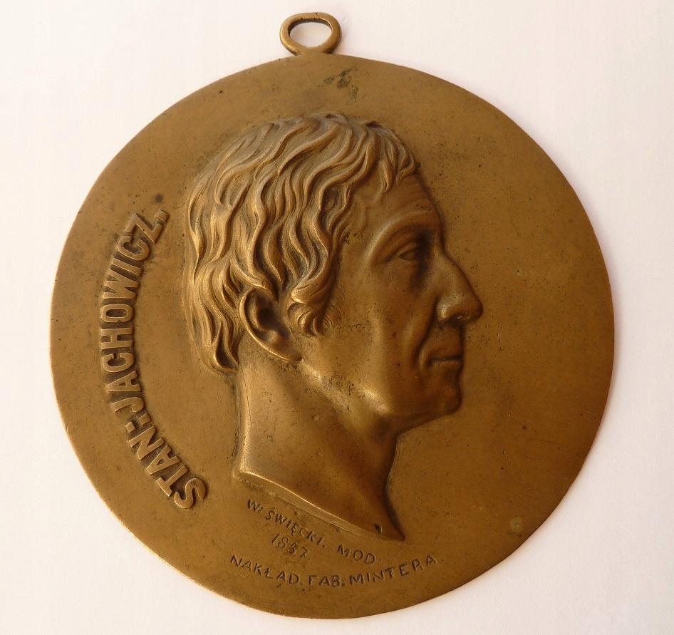 Medalion - Stanisław Jachowicz. Minter. (17)