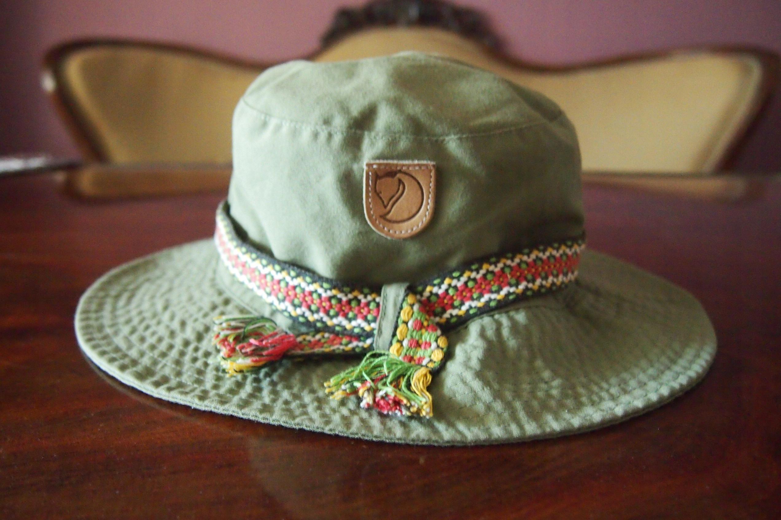 FJALLRAVEN mod.Greenland kapelusz rozm. ok.55cm