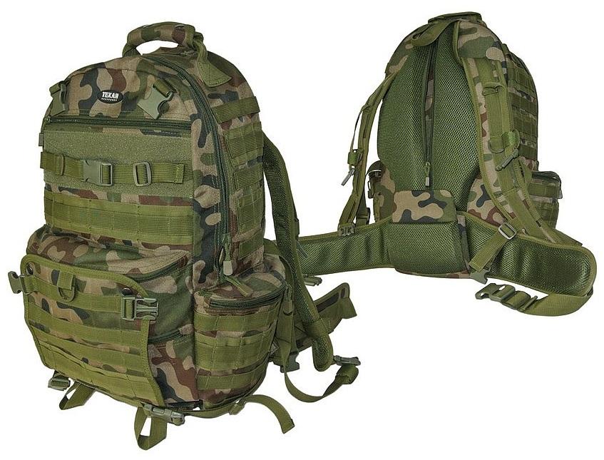 Plecak survivalowy Bravo wz93 50L pl camo Texar