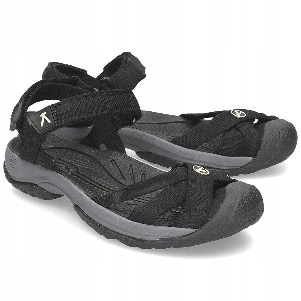 KEEN Bali Strap Czarne Sandały R.39